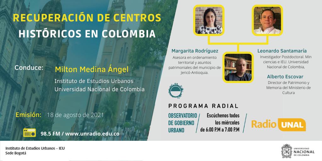 Planes Especiales de Manejo y Protección en centros históricos de Colombia