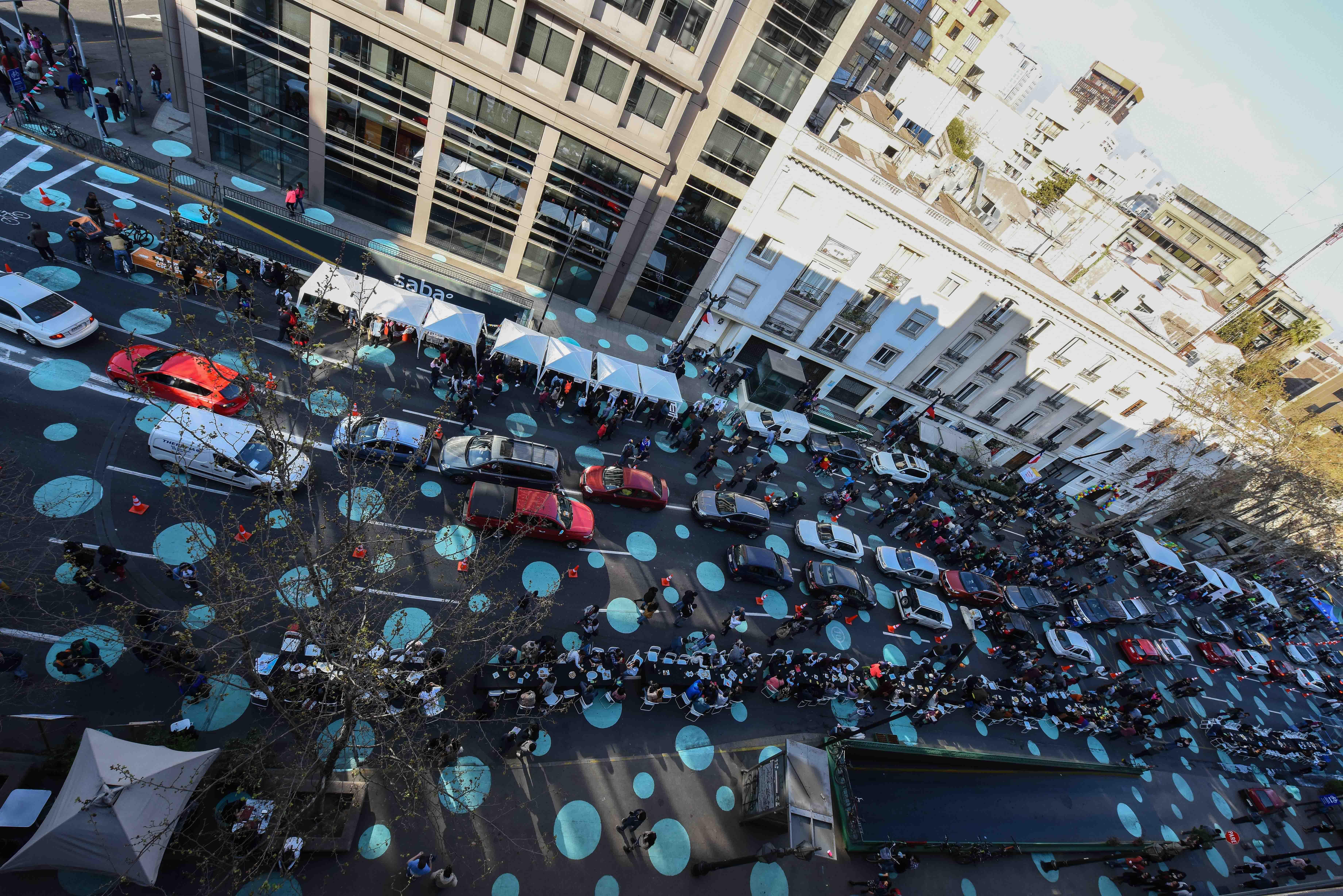Vista aérea Calles Compartidas / Ciudad Emergente