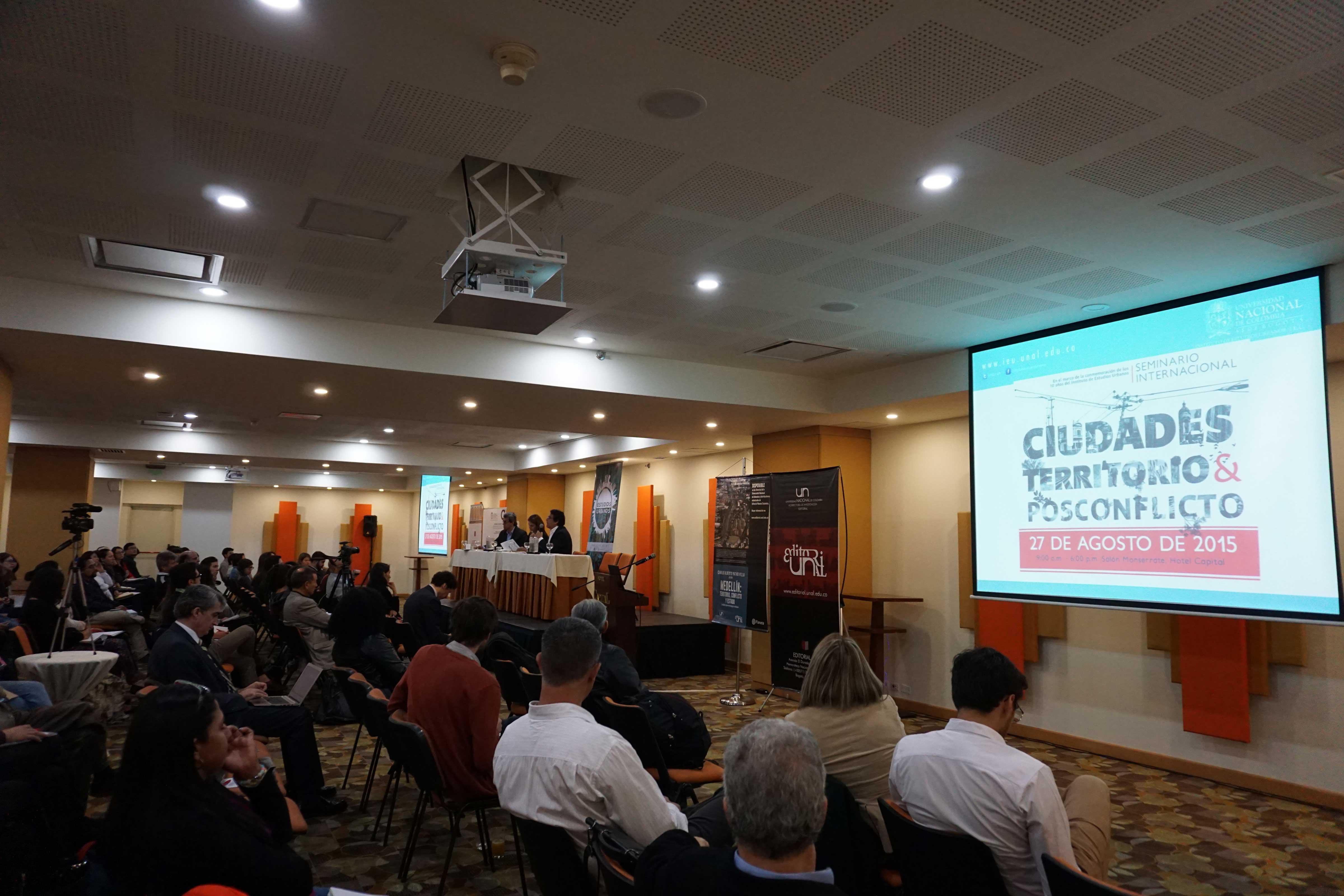 Seminario internacional celebrado en el marco de los 10 años del IEU.