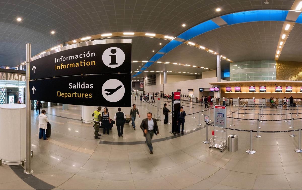 Aeropuerto El Dorado de Bogotá / Foto @BOG_ELDORADO