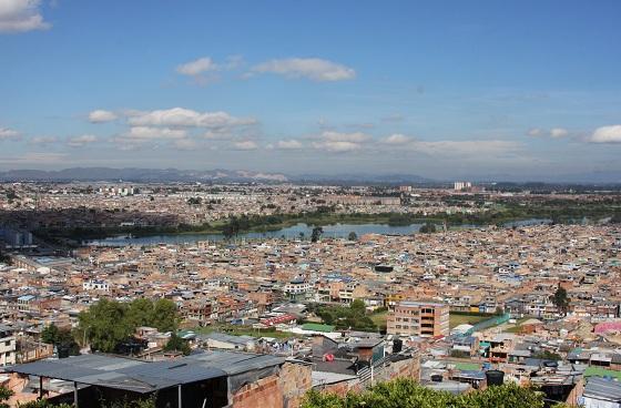 Panorámica de la localidad de Suba / foto Alcaldía Local