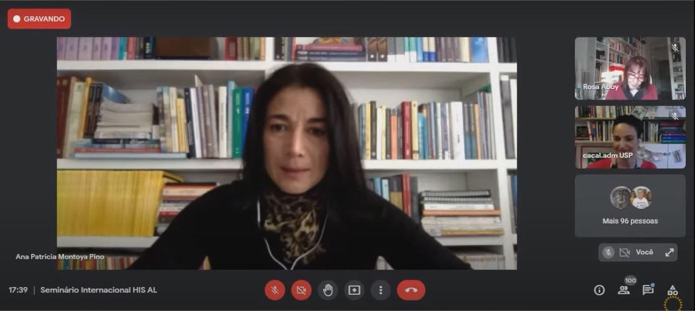 Ana Patricia Montoya, profesora del Instituto de Estudios Urbanos