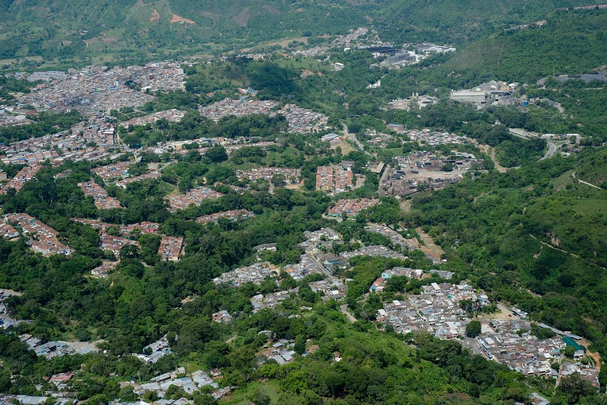 Área Metropolitana de Bucaramanga / Foto César Mauricio Olaya Corzo