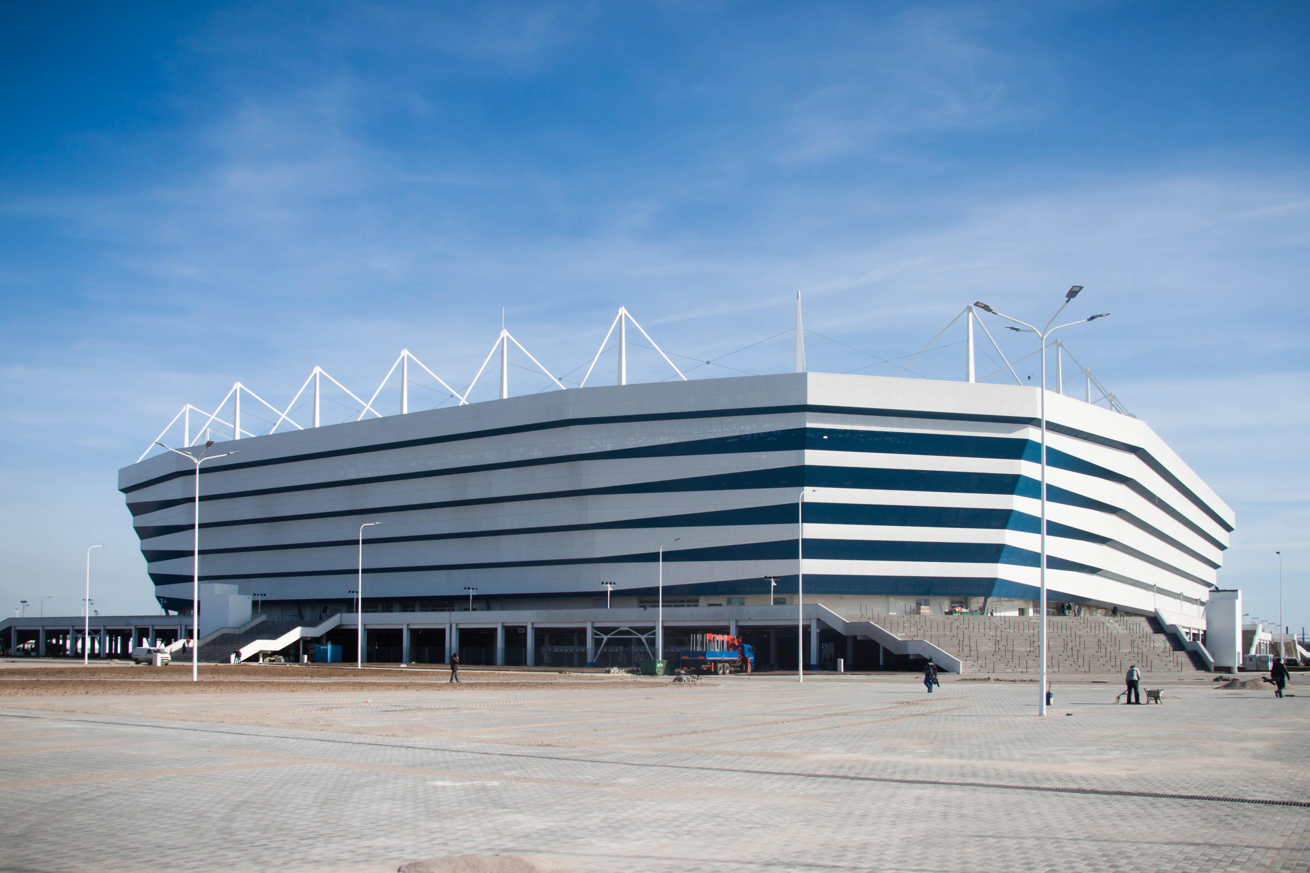 Arena Baltika, estadio Kaliningrad - Rusia