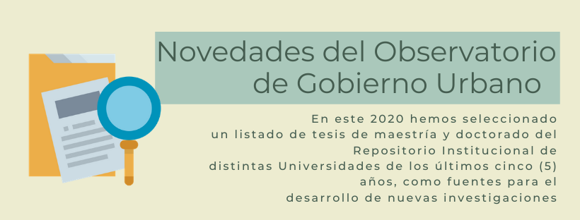 Observatorio Gobierno Urbano