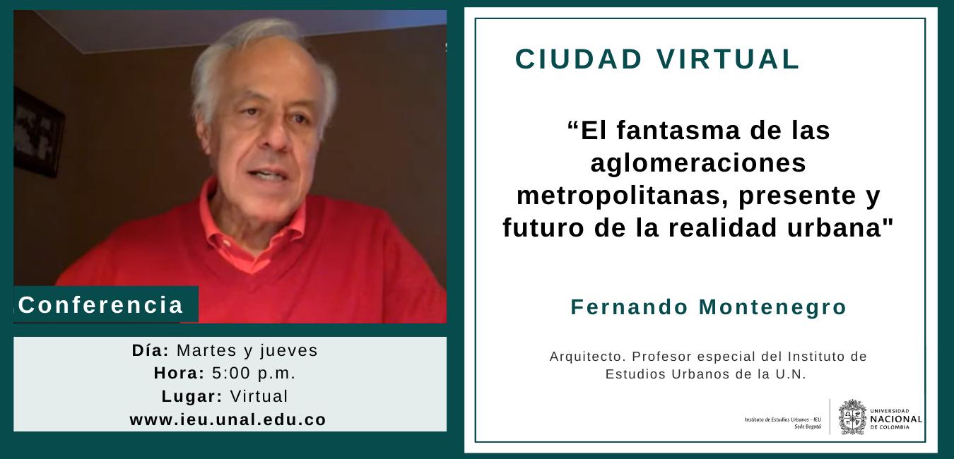Conferencia virtual Ciudad Virtual