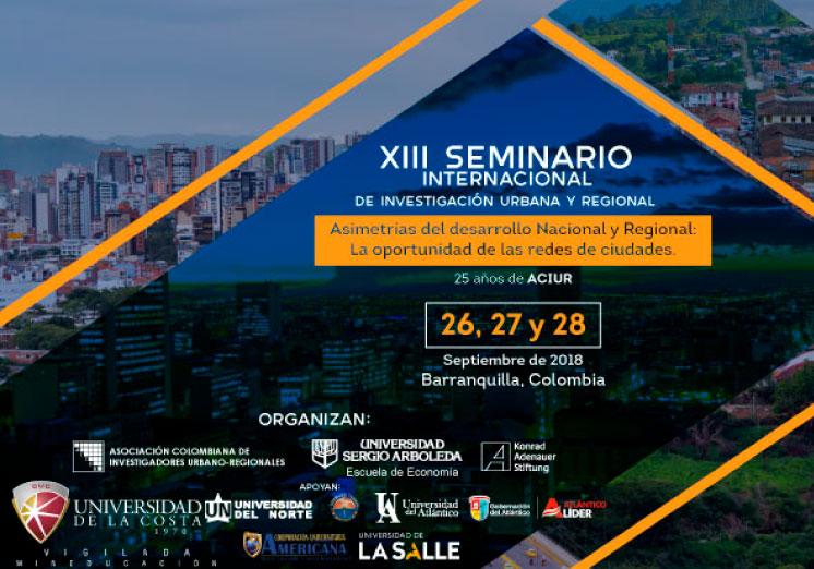 El IEU participa en el XIII Seminario Internacional de la Investigación Urbana y Regional