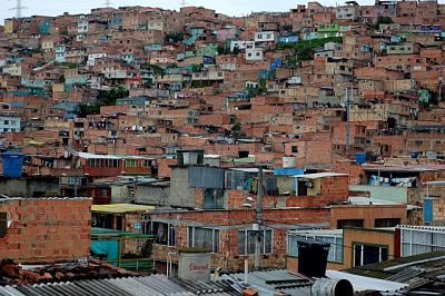 Urbanización informal en Bogotá / Foto Flickr - Roco Mateo