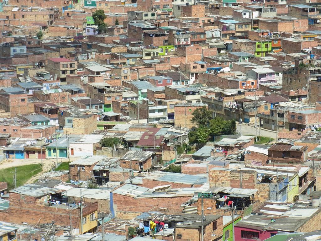 Bogotá - Ciudad Bolívar - Flickr - Wolfgang Sterneck