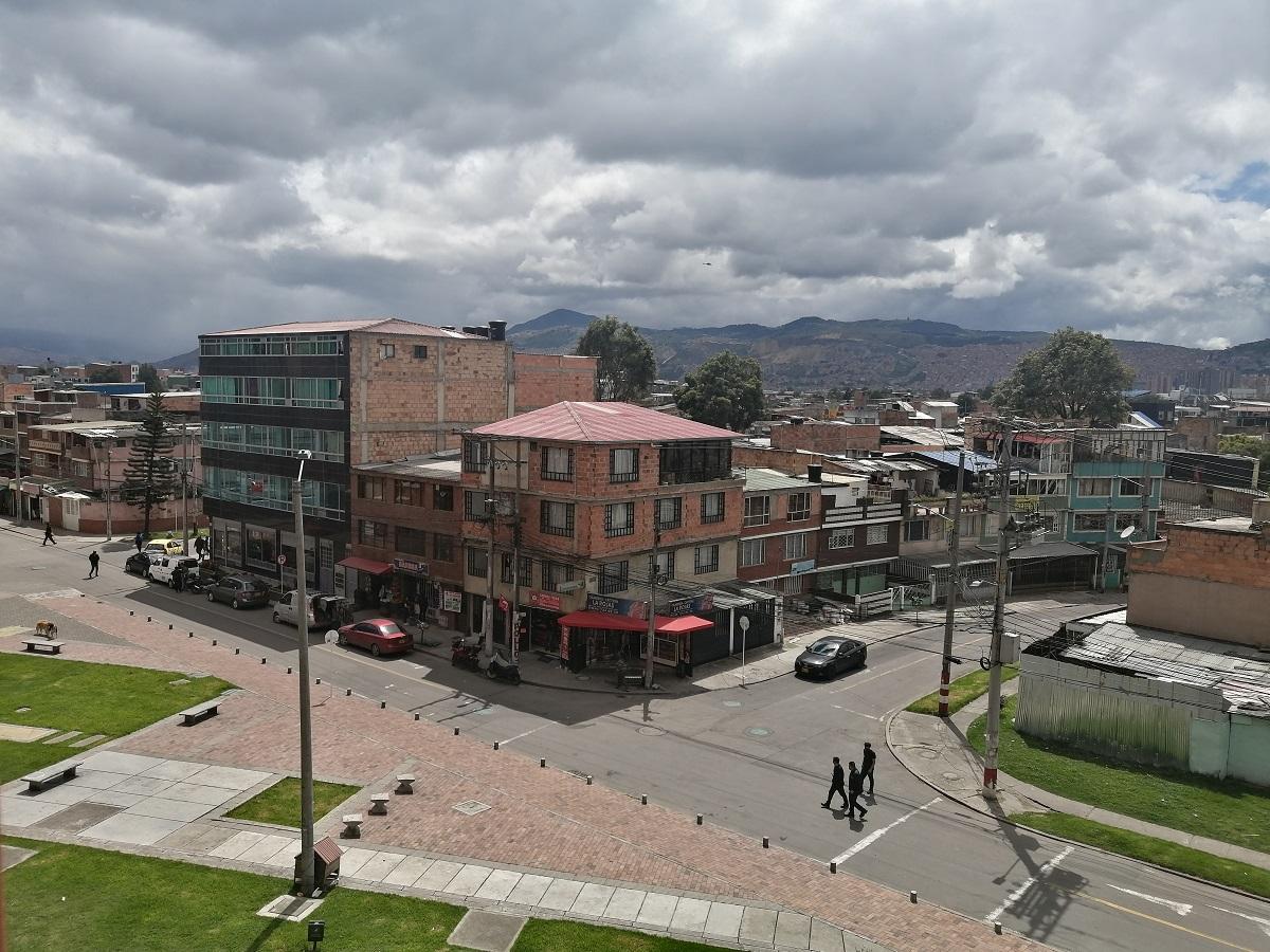 Barrio San Andrés, sur de Bogotá / Foto IEU