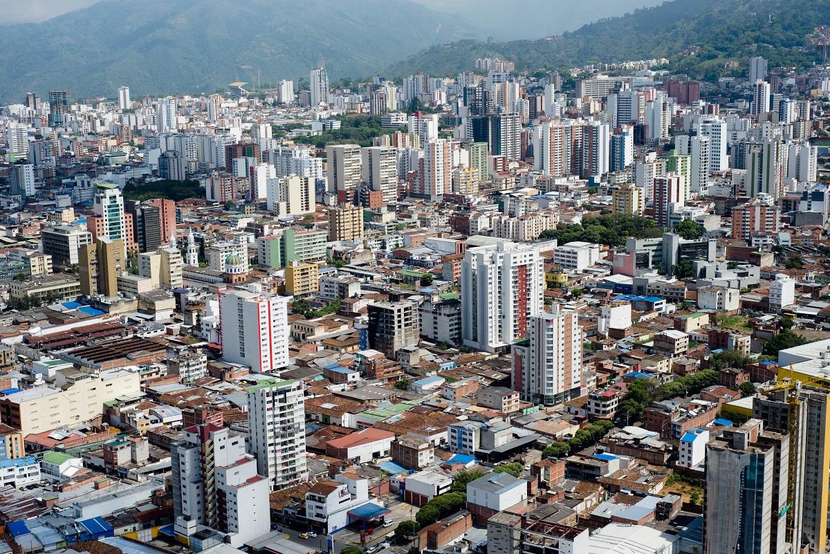Panorámica de Bucaramanga / Foto César Mauricio Olaya Corzo