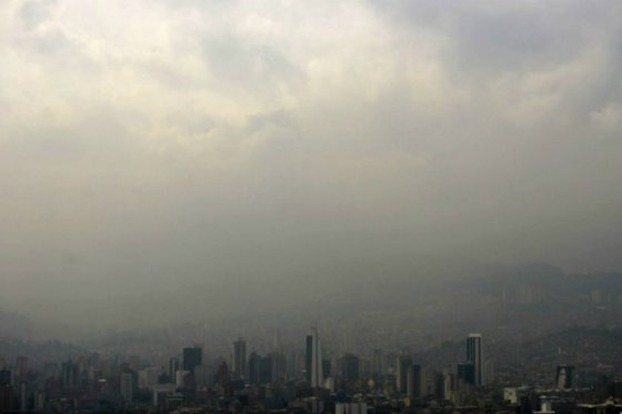 Calidad del aire en Medellín / foto Alcaldía