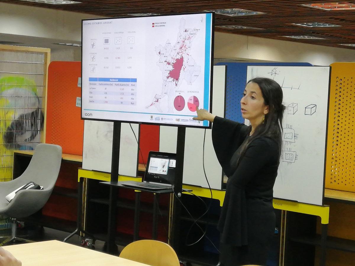 Camila Londoño, directora de Ciudades y Territorio de la multinacional IDOM / foto IEU