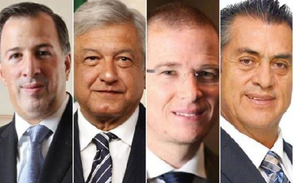 Candidatos a la presidencia de México / Foto El poder del consumidor