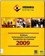 Análisis información contractual rendición de cuentas 2006.