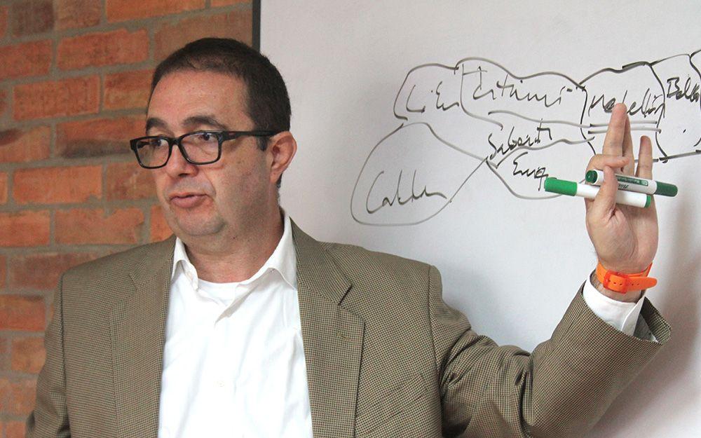 Profesor Carlos Alberto Patiño / Foto: Laura Junco