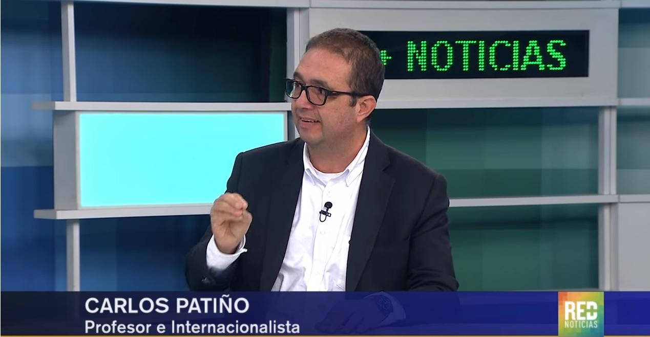 Profesor Carlos Patiño Villa, director IEU