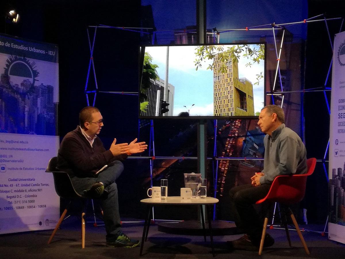 Profesores Carlos Patiño Villa y Fabio Zambrano Pantoja / Foto IEU