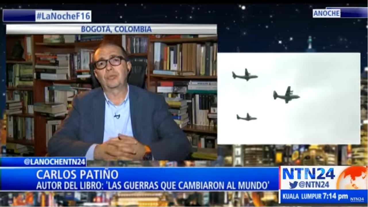 Profesor Carlos Patiño en La Noche de NTN24