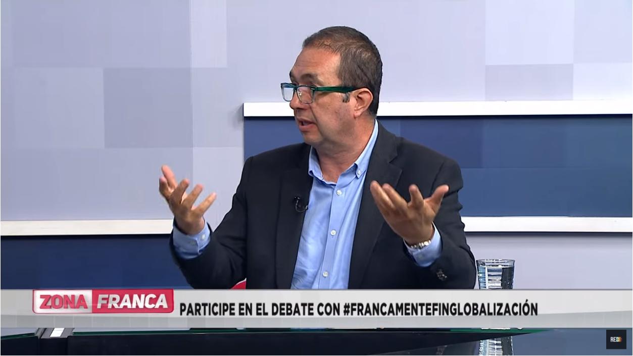 Profesor Carlos Patiño en Zona Franca de Red Más Noticias