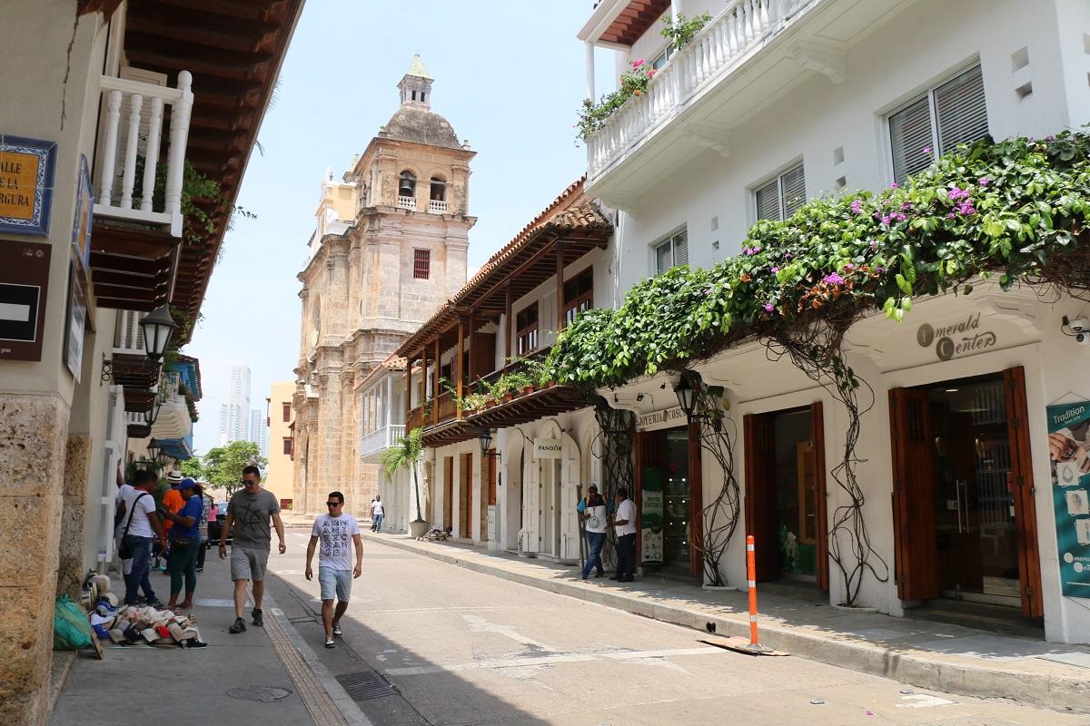 Centro histórico de Cartagena / Foto IEU