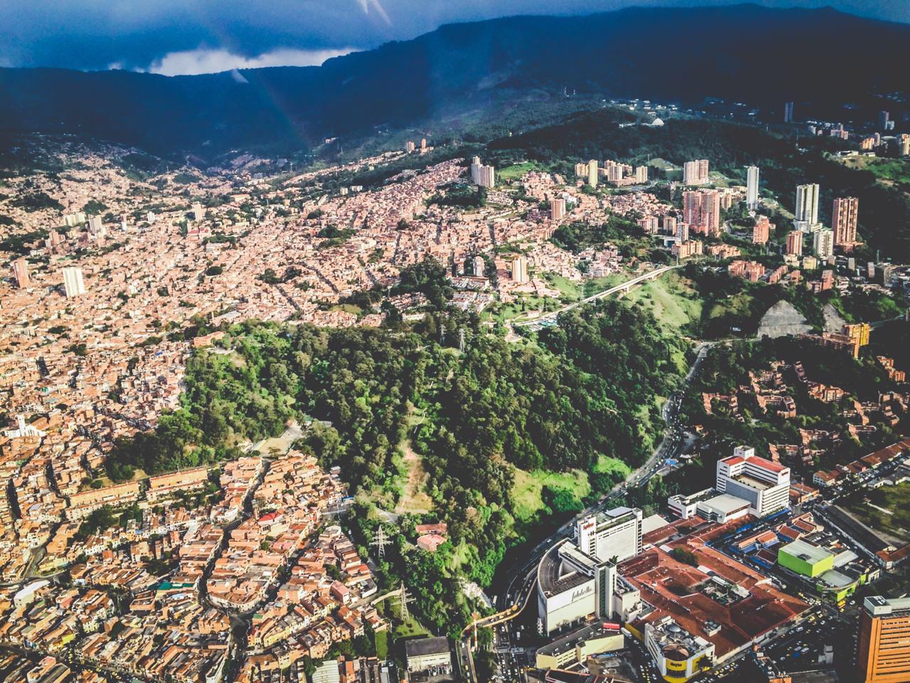 Cerro de la Asomadera, Medellín / Foto David Soto