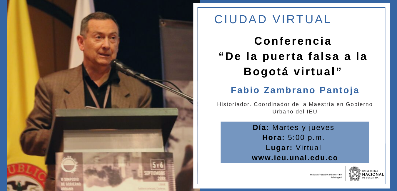 Conferencia virtual Ciudad Virtual