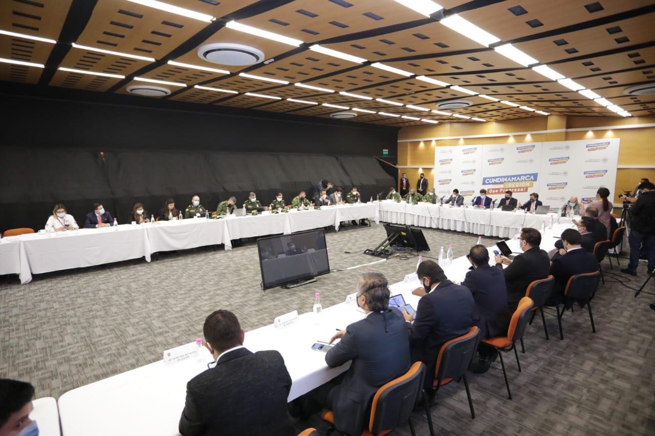 Consejo de seguridad Bogotá - Cundinamarca / Foto referencial de @CundinamarcaGob