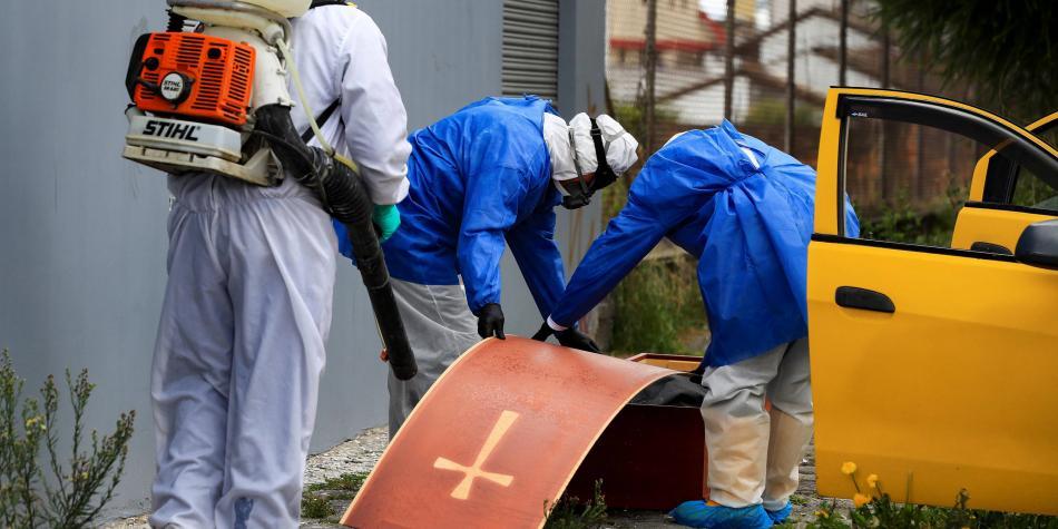 Crisis sanitaria en Quito, Ecuador / Foto José Jácome. Agencia EFE