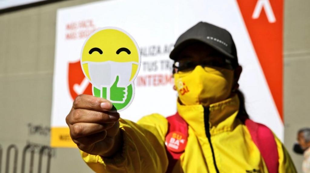 Estrategias pedagógicas de la Alcaldía de Bogotá para el buen uso de la pandemia / Foto Dirección de Cultura de Ciudadana