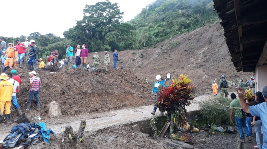 Emergencia en Rosas, Cauca / Foto UNGRD