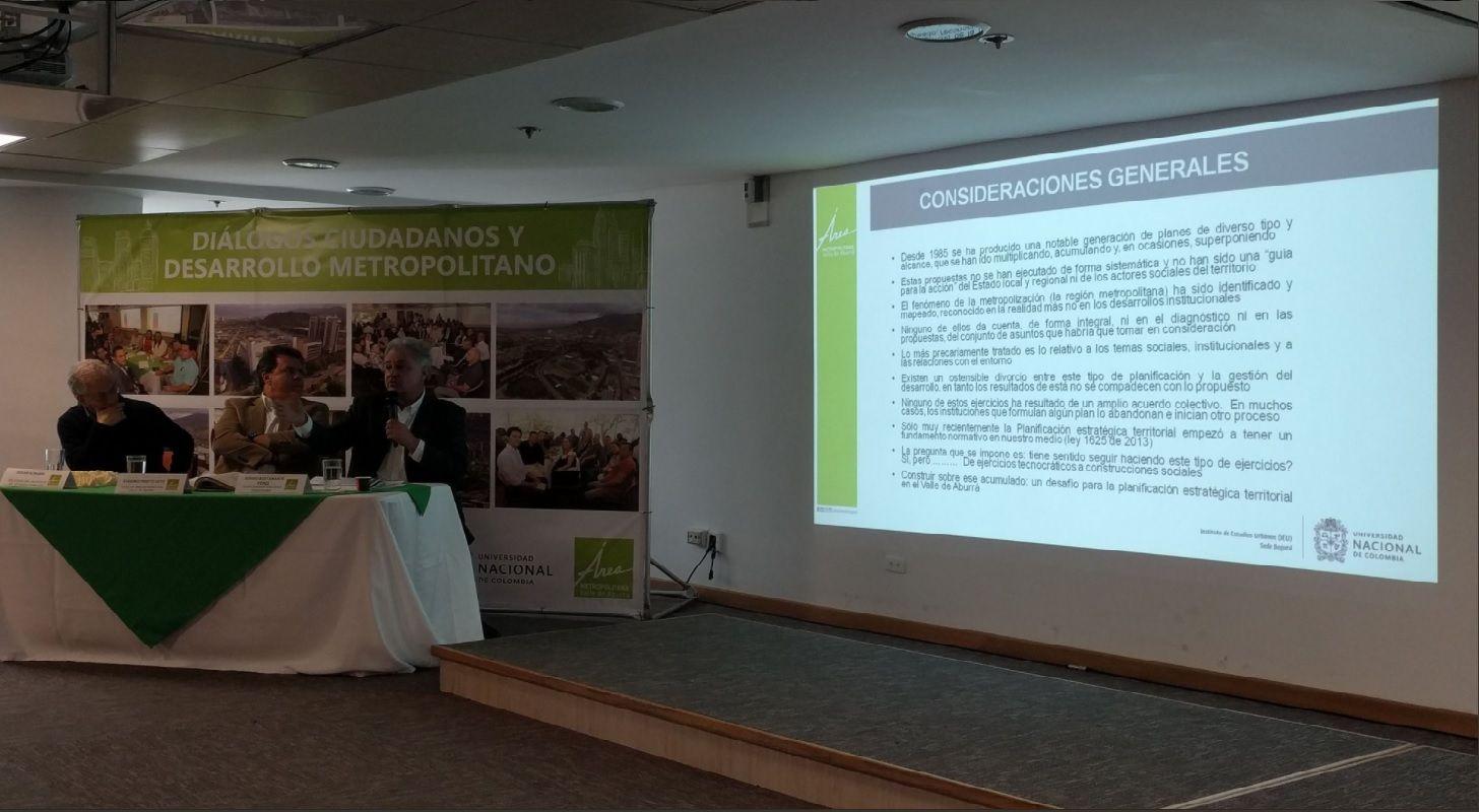 Plenaria Diálogos Ciudadanos. Foto: Fredy Amariles, oficina asesora de comunicaciones AMVA