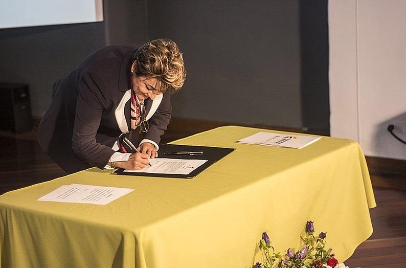 Dolly Montoya, rectora electa de la Universidad Nacional / Foto UN Prensa