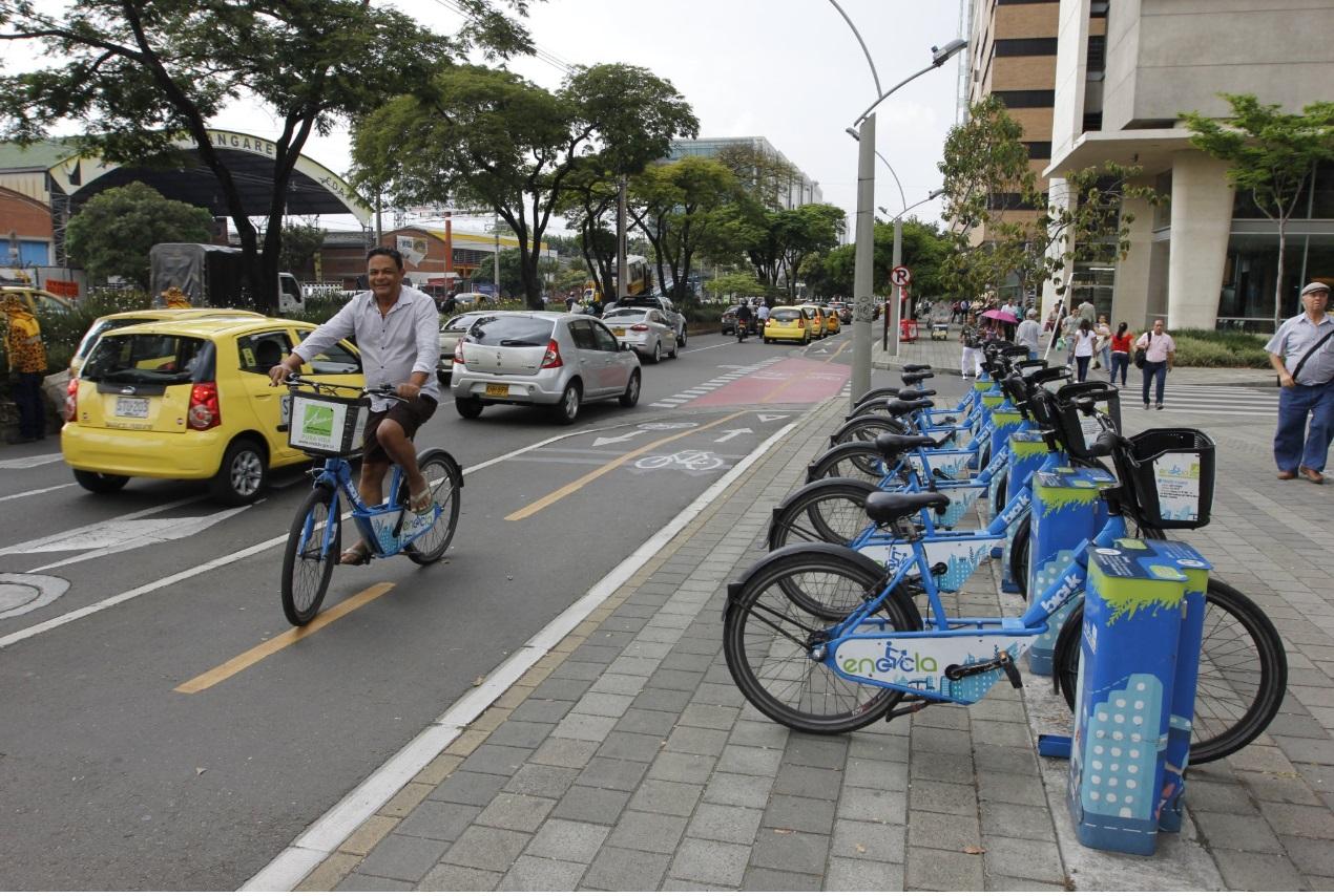 EnCicla, el sistema de bicicletas públicas del AMVA