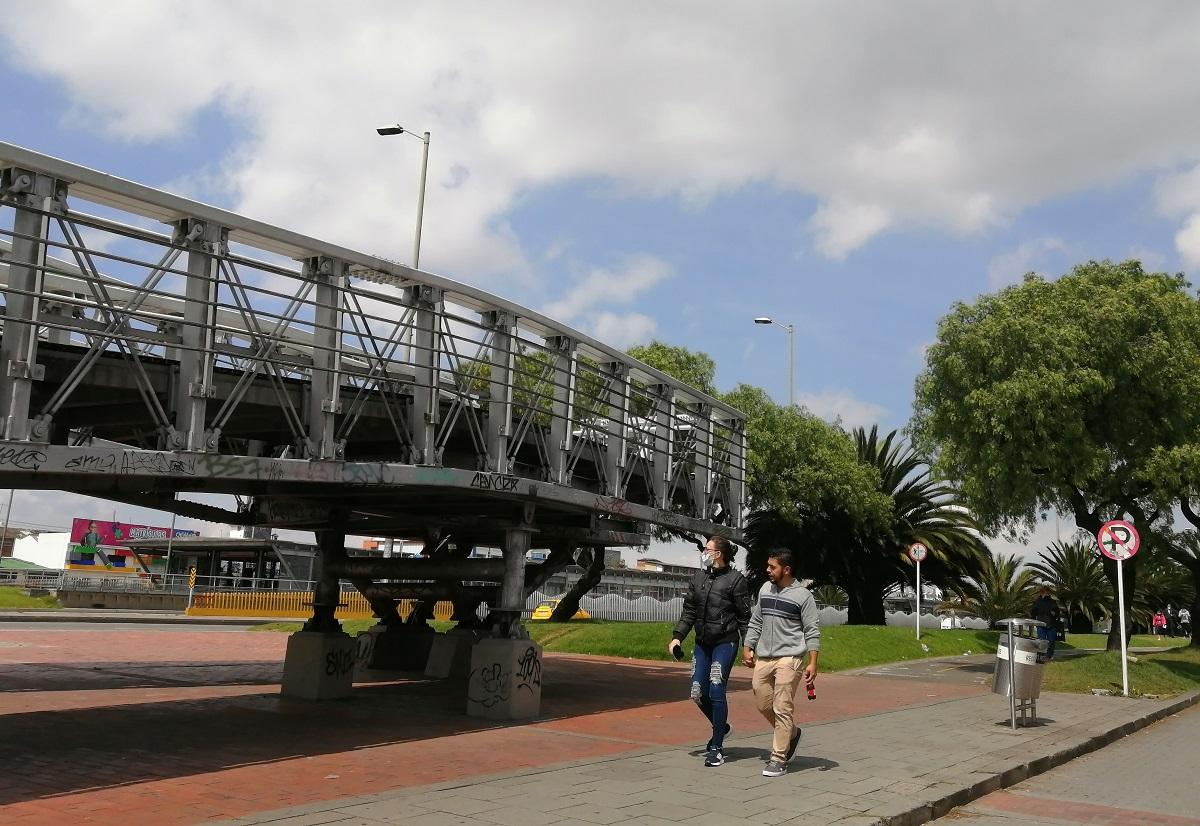 El espacio público en tiempos de cuarentena / Foto IEU