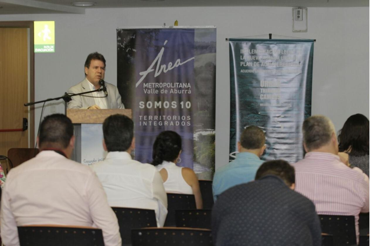 Eugenio Prieto, director del AMVA / Foto @areametropol