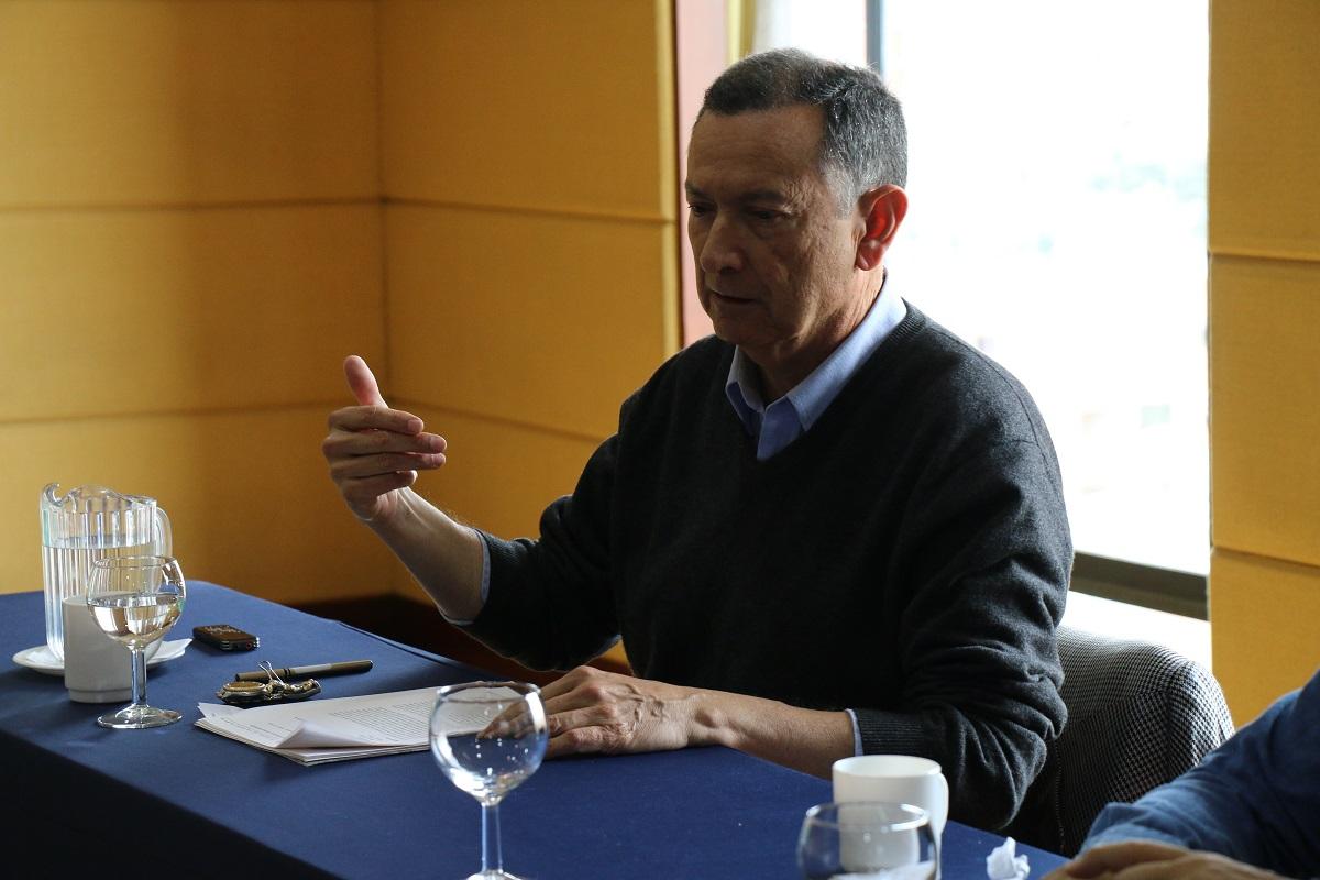 Profesor Fabio Zambrano Pantoja / Foto IEU