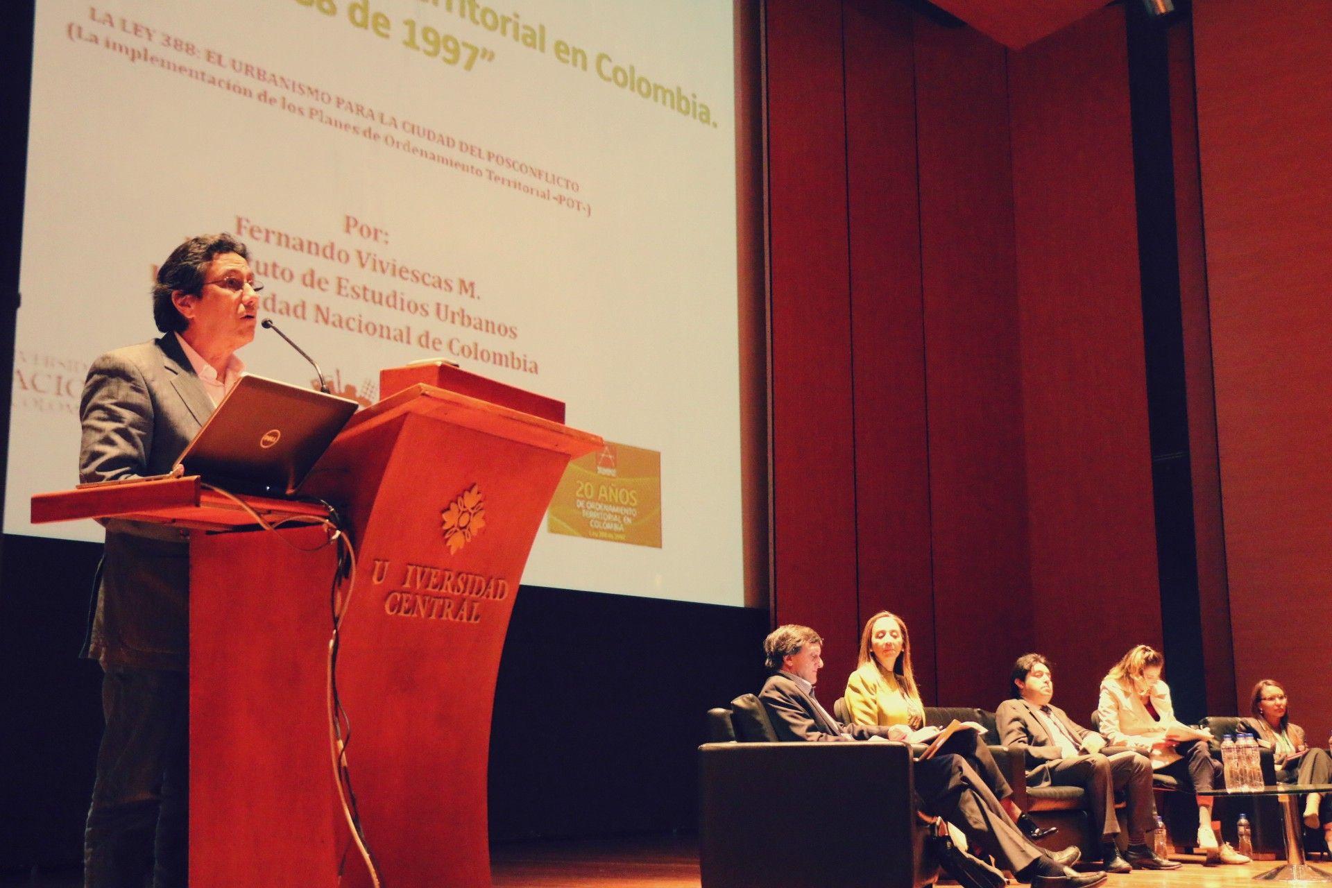 Foto: Profesor Fernando Viviescas (IEU)