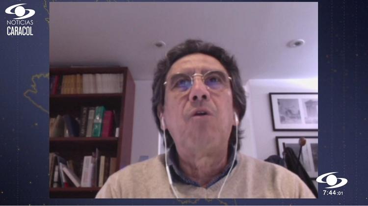 Fernando Viviescas, profesor del IEU