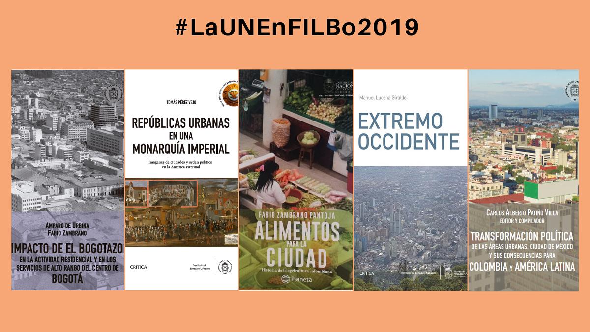 Libros del IEU en la FILBo 2019