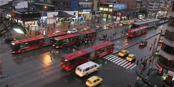 Avenida Caracas Bogotá