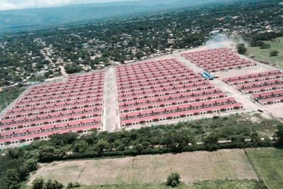 Casas gratis entregadas por el gobierno en La Guajira