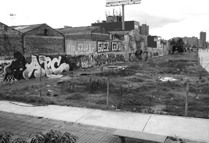 Paisaje residual en Bogotá: análisis del deterioro urbano