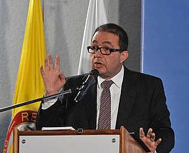 Carlos Alberto Patiño director del Instituto de Estudios Urbanos - IEU.