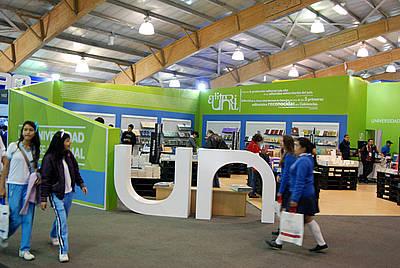 Stand UN en la 27ª Feria Internacional del Libro de Bogotá (Filbo)
