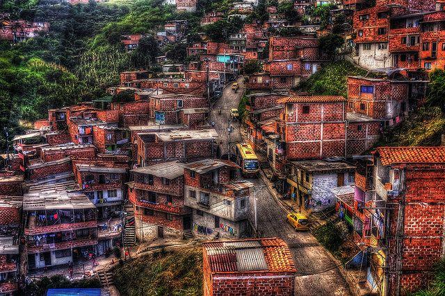 Medellín Comuna, Colombia.