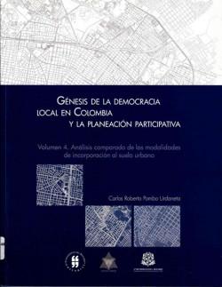 Génesis de la democracia local en Colombia y la Planeación participativa