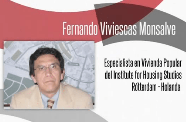 Fernando Viviescas Monsalve es profesor e investigador vinculado al Instituto de Estudios Urbanos, IEU, de la Universidad Nacional de Colombia.