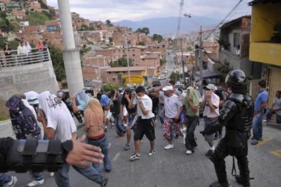 Fotografía: El Espectador. [Violencia urbana] [en línea]. [consultado 10 jul. 2013].