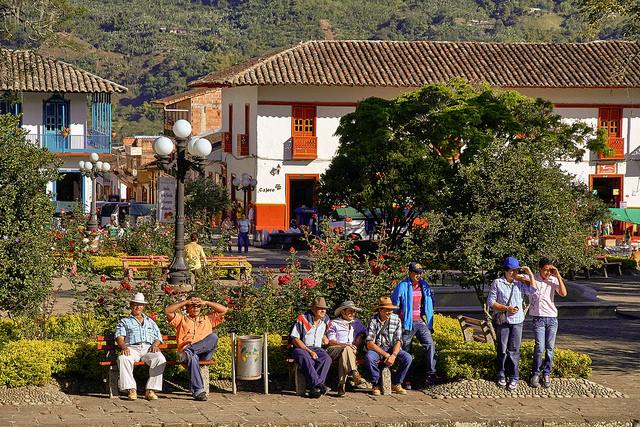 Jardín, Antioquia - Foto Flickr - Pedro Szekely